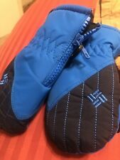 Columbia Toddler Mittens Gloves Electric Blue NWOT!