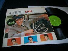 ELVIS PRESLEY- A DATE WITH ELVIS VINYL ALBUM