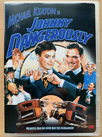 Johnny Dangerously DVD 1984 Gangster Comedy with Michael Keaton Region 1