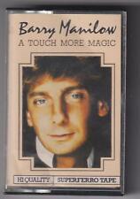 "Barry Manilow ""A Touch More Magic"" cassette album (1983)"