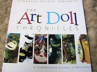 ART DOLL CHRONICLES~Somerset Studio~CLOTH and MIXED MEDIA dollmaking