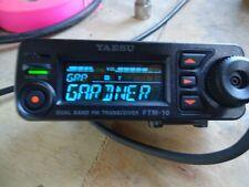 Yaesu FTM 10SR Ham radio...MOTORCYCLE MOBILE..AM/FM BROADCAST STATIONS