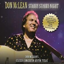 Don Mclean - Starry Starry Night (NEW 2CD)