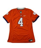 Nike womens Clemson Tigers Football jersey 4 large orange