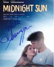 PATRICK SCHWARZENEGGER Signed MIDNIGHT SUN Photo w/ Hologram COA