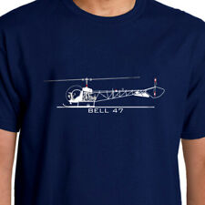 Aeroclassic Bell 47 Helicopter T-Shirt