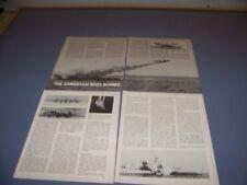 VINTAGE..U.S. BUZZ BOMB: JB-2 LOON..PHOTOS/HISTORY/DETAILS...RARE! (795N)