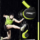 Waterproof Headset With Mic Sport Headphones Earphones In Ear Earbuds HIFI Bass
