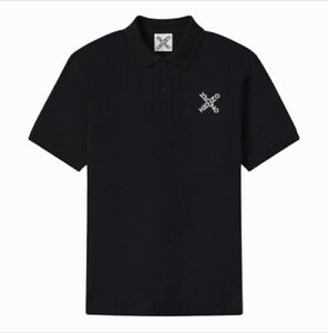 KENZO Men's Cross Polo Shirt In Black