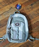 UGA Georgia Bulldogs school Backpack book bag ncaa Genuine Merchandise gray tote