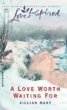 A Love Worth Waiting For (Love Inspired #203), Jillian Hart, 0373872100, Book, G