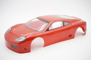 Ferrari 360 1/10th Scale 257mm On Road Touring RC Car Body Shell Painted OZRC JL