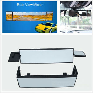 New Car Panoramic Rearview Mirror Large 380mm Curved Mirror 360° Rotation