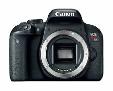 Canon EOS Rebel T7i 24.2MP Digital SLR Camera - Black (Body Only) (Kit Box)