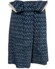 Marni Sparkle Tweed Pencil Skirt sz 44 IT / 8-10 US Blue NEW