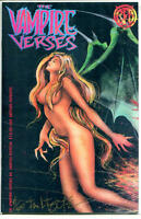 VAMPIRE VERSES #4, FN, Signed COA, Limited, Variant, 1996, more in store