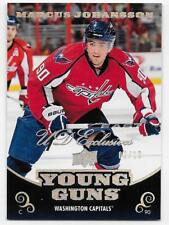 10/11 UPPER DECK YOUNG GUNS UD EXCLUSIVES SPECTRUM Marcus Johansson #2/10