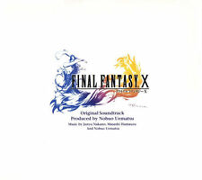 Final Fantasy DVD X 10 Sound Track Number of Discs 4 Produced by Nobuo Uematsu