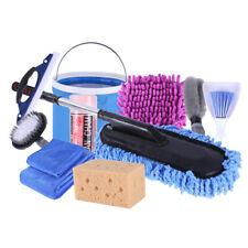 Reinigungsset Autopflege Set Autowaschset 11x Felgenbürste,Schwamm Handtuchbürst