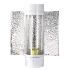 """6"""" Reflector Hood Air Cooled Cool Tube Wing For 400w 250w HPS MH Grow Light Tent"""