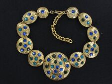 INCREDIBLE French Couture Necklace by FRANCE  Edouard RAMBAUD  (NK1950)