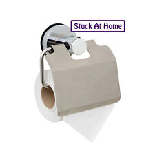 Naleon Stainless Steel Toilet Roll Paper Holder Suction Bathroom Removable