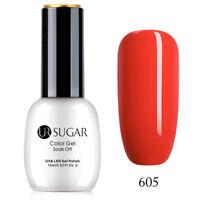 UR SUGAR 15ml Nagel Gellack Nail UV Gel Polish Soak Off Gel UV Nagellack Rot