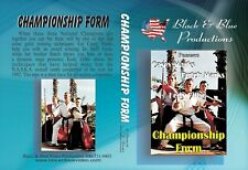 Casey & Butch Marks Championship Karate Tournament Forms Kata Dvd weapons sword