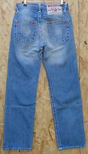 True Religion Billy Super T Herren jeans Hose 32/33 Distressed stonewashed D393