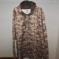 Majestic Digital Camo Hooded Sweatshirt New Mens 3XL