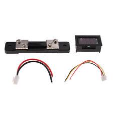 Digital 75 mΩ Voltmeter Amperemeter 0-100V Spannungsprüfer Spannungsanzeige