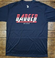New Sample Badger B-Core Moisture Wicking Performance T-shirt V-neck Activewear