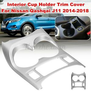 Interior Molding Water Cup Holder Trim Cover Panel For Nissan Qashqai J11
