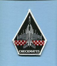 VFA-211 FIGHTING CHECKMATES US NAVY F-18 SUPER HORNET Squadron Coffin Patch