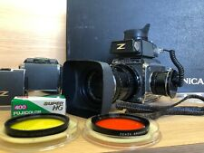 *Exc+5* Zenza Bronica S2 w/ Nikkor Q 135mm Lens , TTL Meter , Hard case Japan