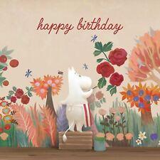 MOOMIN birthday card - MOOMINVALLEY - MOOMINMAMMA PAINTING