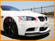 AK1 Style Carbon Fiber Front Bumper Spoiler Lip For BMW E90 E92 E93 M3 2008-2013