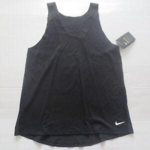 Nike Women Breathe Tank Top Shirt - 862774 - Black 010 - Size XS - NWT