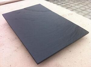 Schiefer schwarz f. Fensterbank Trittstufe Abdeckung Tischplatte Abdeckung Stein