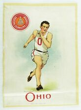 C.1910 University of Ohio Sports Tobacco Silk Vintage Original #3