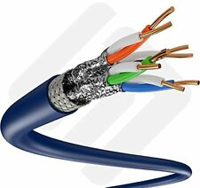 500ft Cat6A S/Ftp In-Wall Cmr (Ul Listed) 100% Copper Solid Wire 23Awg 550Mhz