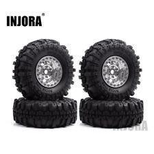 "4 Set 1.9"" Wheel Tire Beadlock Wheel Rim for 1/10 RC Axial SCX10 90046 CC01 D90"
