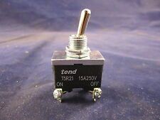 tend T5R-21B 15A 250V On-Off Position Toggle Switch (Spring Return-off) 4 Pin
