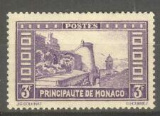 """MONACO STAMP TIMBRE N° 130 """" MONTEE AU PALAIS 3F VIOLET """" NEUF xx TTB"""