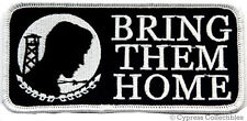 POW-MIA EMBROIDERED IRON-ON BIKER PATCH MILITARY Bring Them Home VIETNAM WAR