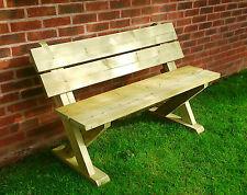 Wooden bench sits 2 patio furniture garden bench tanalised garden seat (AS101)