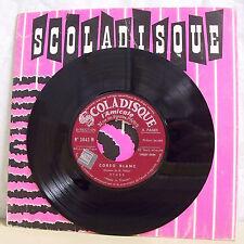 """Louis WINS H. TELLAM Vinyle 45T 7"""" CORSO BLANC - SCOLADISQUE N° 2042 RARE"""