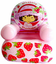 Pink Strawberry, Inflatable Chair for Girls,  Ideal Gift, Relax in Style