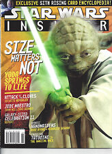Star Wars Insider Issue #61 Size Matters Not Yoda Springs to Life John Williams