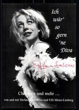 Stefanie Seeländer Autogrammkarte Original Signiert## BC 6123